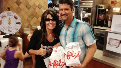 Palin CHick fil a