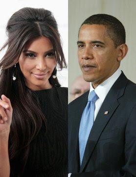 Kim Kardashian Defeat Barack Obama