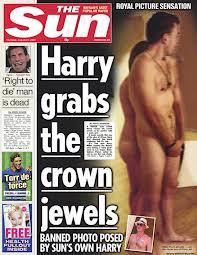 Harry nekked