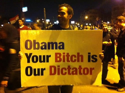 Obama-bitch-egypts-dictator