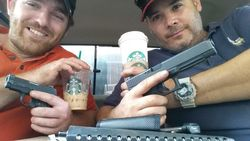 Starbucks guns