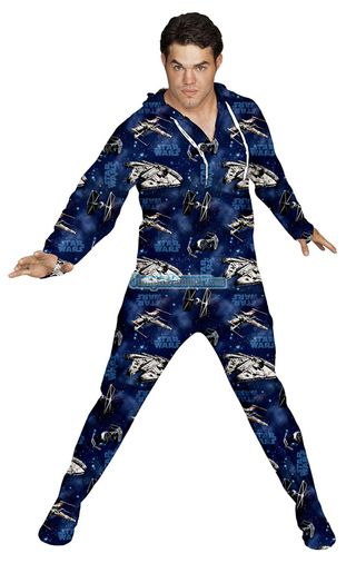 Adult-Star-Wars-Space-Ships-Footie-Pajamas